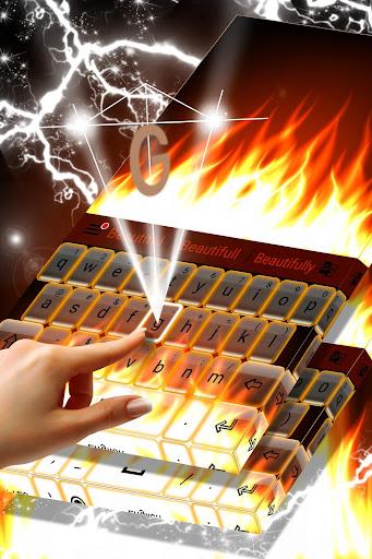 Burning Live Fire Keyboard  screenshots 3