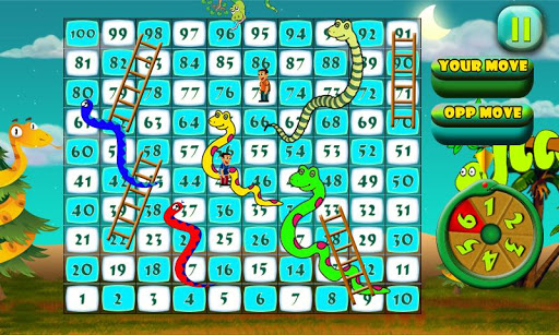 Snakes N Ladders The Jungle Fun Game 1.0 screenshots 3