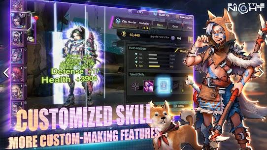Battle Night: Cyber Squad MOD (One Hit/God Mode) 4