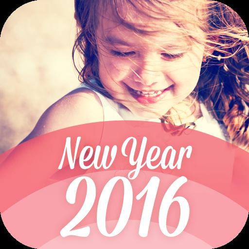 おしゃれ年賀2016 基本料無料写真年賀状をスマホでデザイン 生活 LOGO-玩APPs