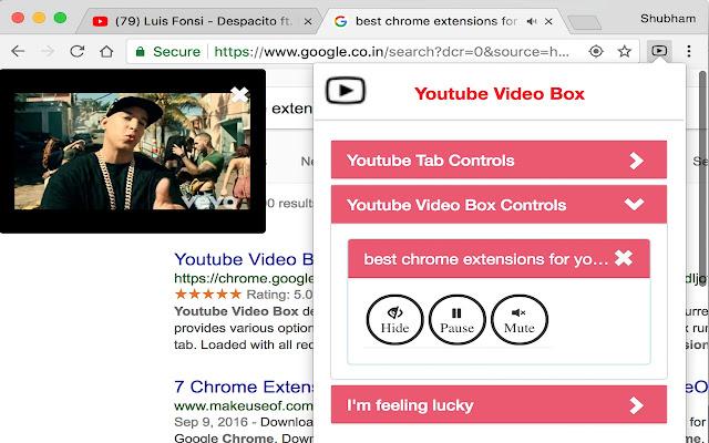Youtube Video Box