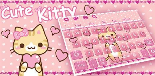 Pretty Cute Kitty Keyboard Apps On Google Play