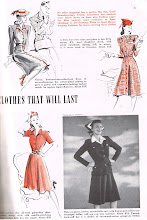 Photo: Clothes for spring and summer of 1942