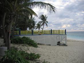 Photo: Yoga Retreat, Bahamas - side view of yoga deck