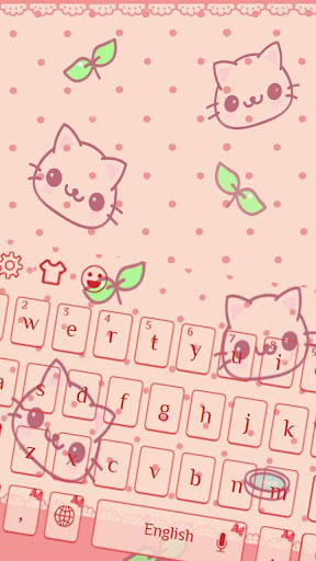 Lovely Cute Kitty keyboard for PC