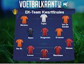 Het EK-team van de kwartfinales: Oranje boven!