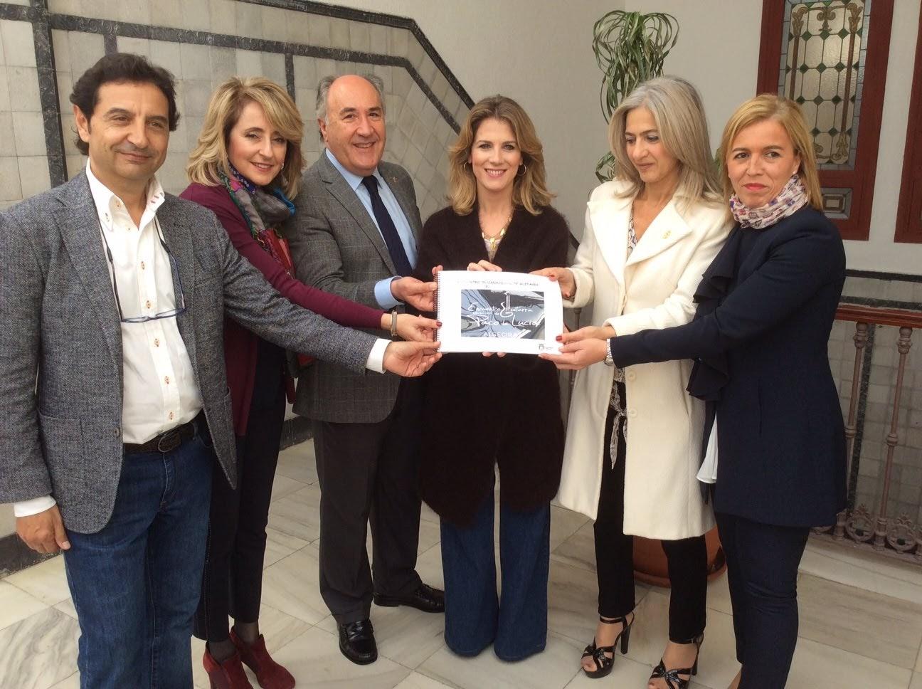 La consejera de Cultura de la Junta de Andalucía visita oficialmente el Ayuntamiento