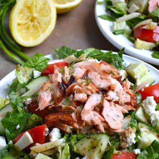 Greek Salmon Salad.