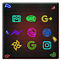 Neon Light Business Wall Theme icon
