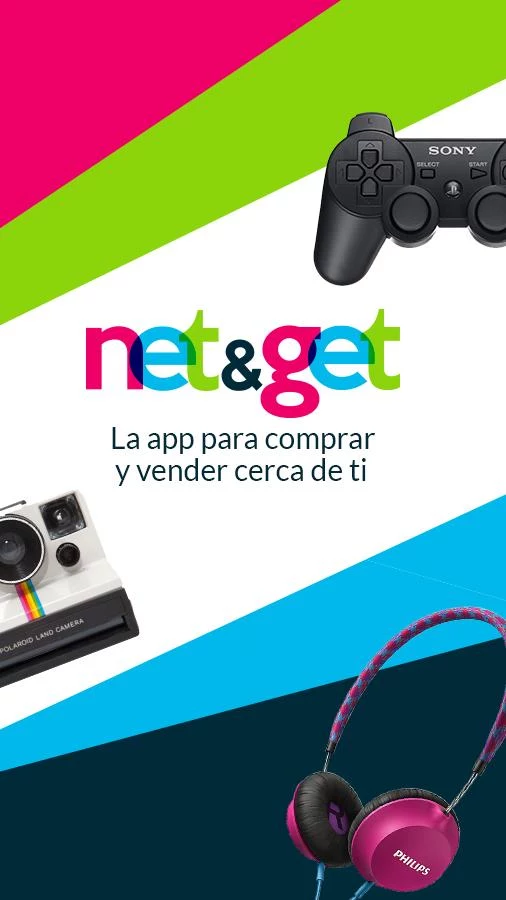 NetandGet compra y vende- screenshot