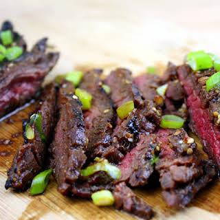 Korean-Style Grilled Skirt Steak.