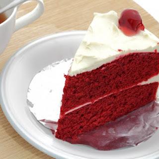 Simple Red Velvet Cake.
