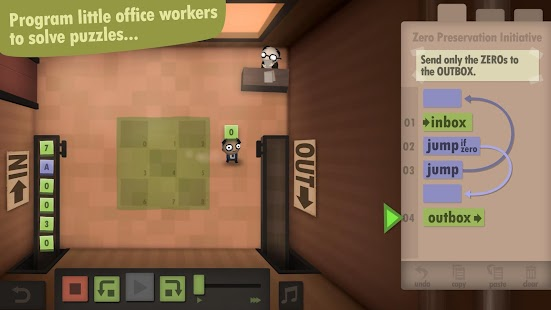 Human Resource Machine- screenshot thumbnail