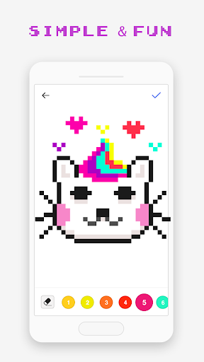Pixel Art Book - Color by Number Free Games 1.8.1 screenshots 4