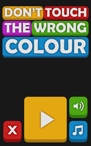 Don't Touch The Wrong Colour