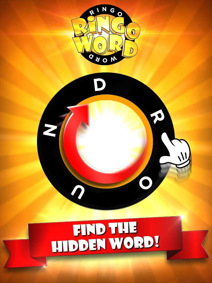 RingoWord - Circle Word Game- screenshot