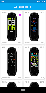 MiBand4 WatchFace for Xiaomi Mi Band 4 1.4.3 Ad Free 1