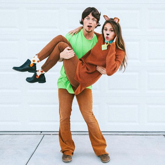 scooby doo and shaggy costume