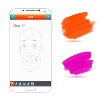learn how to draw cartoon easy - screenshot thumbnail 03