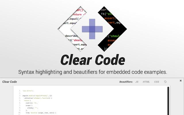 Clear Code