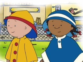 Caillou the Road Builder/Caillou's Building Adventure/A House in the Sky