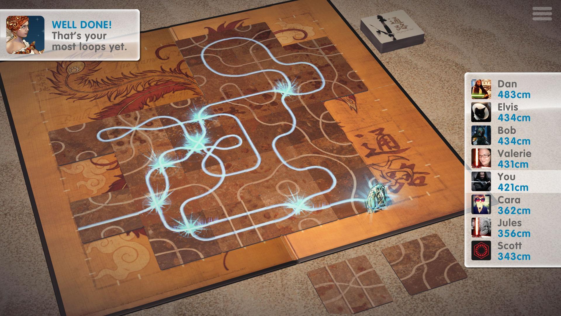 Tsuro - The Game of the Path screenshot #3