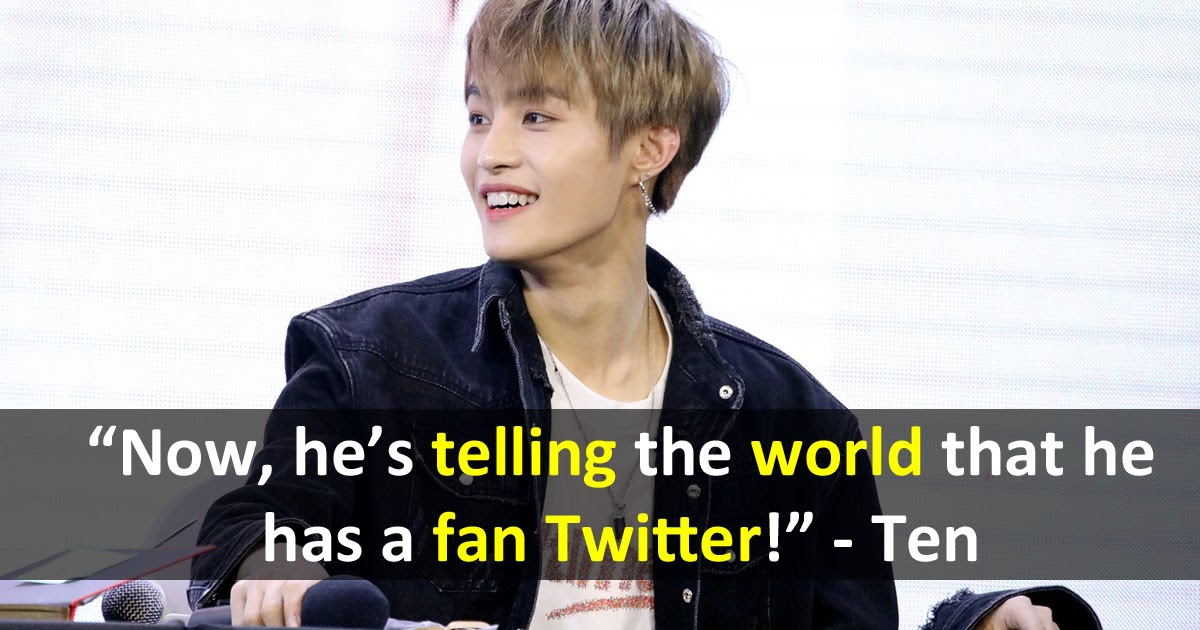 Wayv S Yangyang Exposes His Own Fan Twitter Account Koreaboo