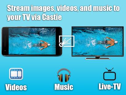 Castie TV Cast | Roku Remote & Movie Stream App for PC