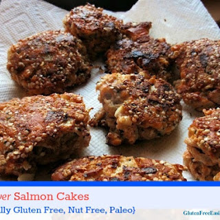 The Best Ever Gluten-Free Salmon Cakes (Grain Free, Dairy Free, Nut Free Plus).