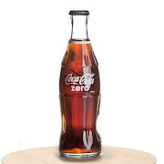 Glass Bottle Coke Zero