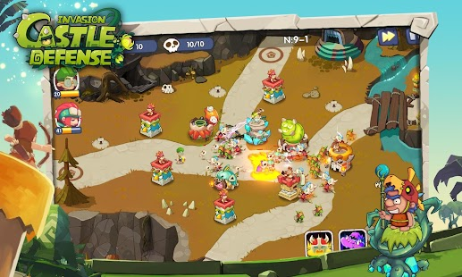 Castle Defense : Invasion Screenshot
