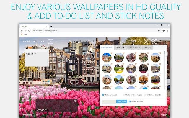 Amsterdam Wallpaper HD Amsterdam City New Tab
