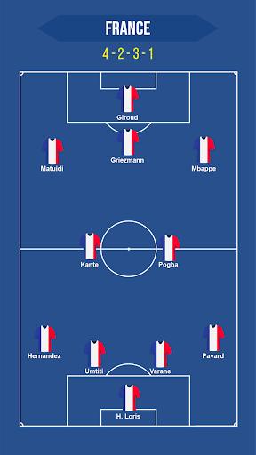 Football Squad Builder - Strategy, Tactic, Lineup 2.4.5 Screenshots 4
