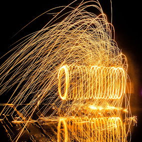 steel wool by Uzair RIaz - Abstract Fire & Fireworks ( pakistan, karachi, uzairriazphotography,  )