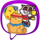 Stickers and Smiles for Viber