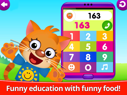 Funny Food 123! Kids Number Games for Toddlers! 1.2.0.150 screenshots 10