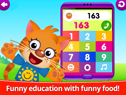 Funny Food 123! Kids Number Games for Toddlers 10