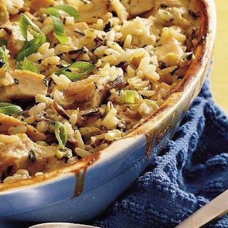 Wild Rice Chicken Casserole Cream Of Mushroom Soup Recipes.
