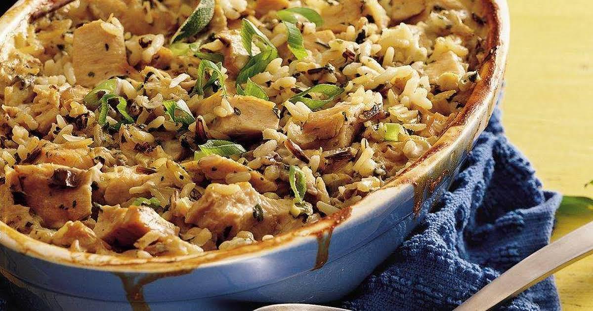 10 Best Wild Rice Chicken Casserole Cream Of Mushroom Soup -1461