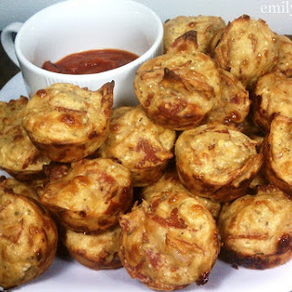 Pepperoni Pizza Mini Puffs Recipe