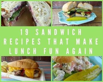 19 Sandwich Recipes That Make Lunch Fun Again