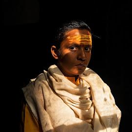 Batuk Brahmin, Varanasi by Ketan Vikamsey - People Portraits of Men ( canon5dmarkiv, pic of the day, canonusa, lonelyplanetmagazineindia, natgeohd, lonelyplanet kv kliks, up tourism, canonphotography, ganga ghat, natgeo, photo of the day, uttar pradesh tourism, natgeotravel, batuk brahmin, varanasi, travel the world pix, bbctravels, ketan vikamsey, incredible india )
