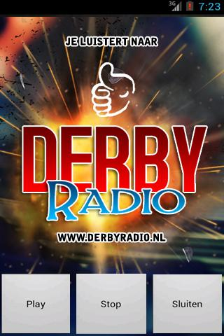 DerbyRadio.nl- screenshot