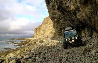 Photo: Uno dei nostri Land Rover Defender 110 AT37 nei Fiordi Occidentali d'Islanda. www.90est.it