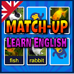 Match Up Learn English Words -Vocabulary Card Game Icon