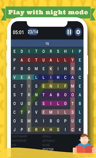 Word Search game 2020 u270fufe0fud83dudcda - Free word puzzle game apkmr screenshots 3