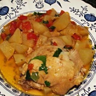 Indian Chicken Stew.