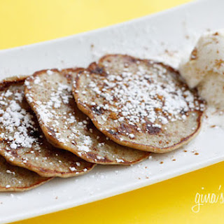 Low Fat Banana Fritters.