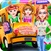 School Teacher Girls Classroom Trip-Kids Games