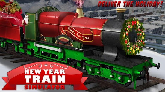 New Year Train Simulator - náhled